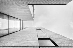 Worm's Eye View of Architectural Building Stock Photos