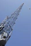 Worm's eye view of a heavy duty crane Royalty Free Stock Photo