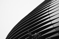 Worm's Eye View of High Rise Building Royalty Free Stock Photo