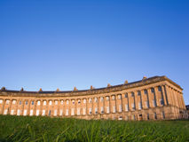 Low angle view of Royal Crescent, Bath Stock Photos