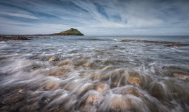 Worm's head on the Gower peninsular Stock Images