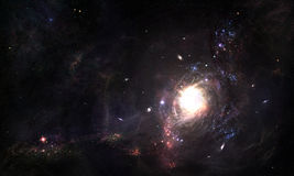 Wormhole del espacio imagenes de archivo