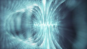 Wormhole though time and space, flashy high tech style.TSeamless loop. stock footage