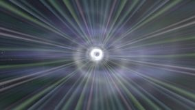 Wormhole though time and space. Travel though this science fiction wormhole stock video