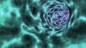 Wormhole tunel ilustracji