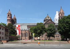 Worms Cathedral Royalty Free Stock Photography