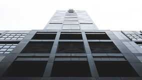 Worms Eye View of Building Under White Sky Stock Photography
