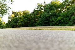 Free Worms Eye View On Running Path Stock Images - 89562214