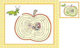Worms game help royalty free illustration