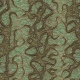 Worms generated texture Royalty Free Stock Photo