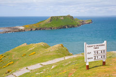 Worms head causeway stock photography