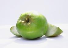 Wormy фото яблока Стоковое Изображение