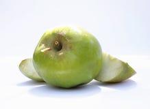 Wormy фото яблока Стоковая Фотография RF