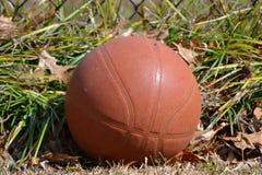 Worn баскетбол Стоковое Изображение RF