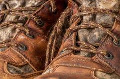 Worn ботинок звероловства Стоковое Фото