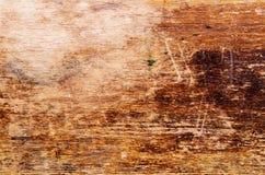Worn-вне деревянная поверхность Стоковая Фотография RF