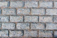Worn вымощая плитка Стоковая Фотография