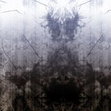 Worn металлопластинчатое бесплатная иллюстрация