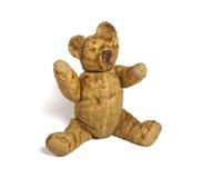 Worn плюшевый медвежонок Стоковое Изображение