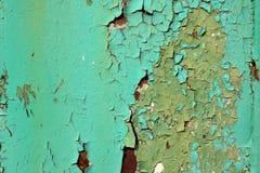 Worn покрашенная текстура стены Стоковое Фото