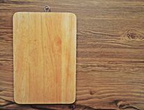 Worn разделочная доска блока мясника Стоковое Изображение