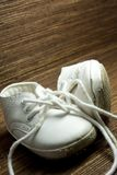 Worn baby shoes Royalty Free Stock Photo