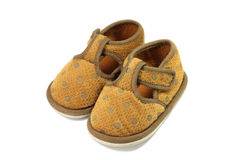 Worn baby shoes Royalty Free Stock Image