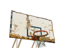 Worn basketball board Royalty Free Stock Photography