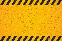 A Worn Black Striped Rectangle. Scratched Blank Warning Sign. Vector illustration. Eps 10 vector illustration