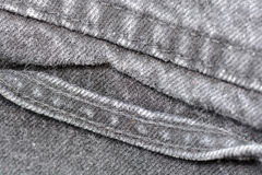 Worn blue denim jeans texture, background Stock Images