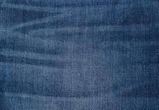 Worn Blue Denim Jeans texture, background Stock Photo