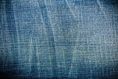 Worn Blue Denim Jeans texture, Stock Photos