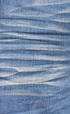 Worn of blue jeans Royalty Free Stock Photo