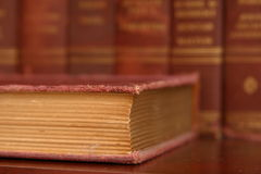 Worn Book Pages Royalty Free Stock Image