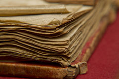 Worn book pages Royalty Free Stock Images