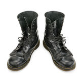 Worn boots Royalty Free Stock Images