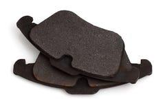 Worn brake pads. Royalty Free Stock Image