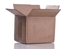 Worn Brown Box Royalty Free Stock Photo