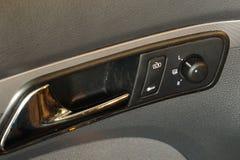 Worn car interior Royalty Free Stock Photography