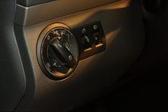 Worn car interior Stock Image