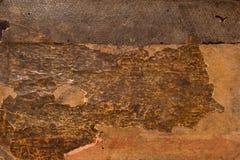 Worn carton texture Stock Images