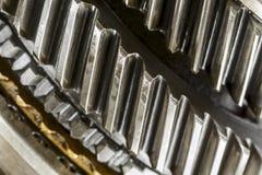 Worn cog wheels Stock Image