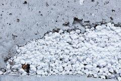 Worn concrete wall closeup Stock Photography