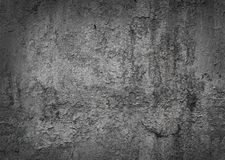 Worn damaged painted metal texture pattern background with vignette frame effect. Dark grey grunge texture structure surface with Stock Image
