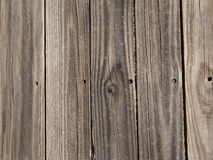 A Worn Deck. Worn boards of a deck Royalty Free Stock Images