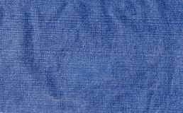 Worn denim fabric Royalty Free Stock Image