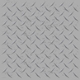 Worn Diamond Plate Vector Stock Photography