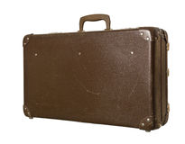 Worn down suitcase Stock Photos