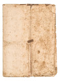Worn falded paper sheet Used stained paper texture royalty free stock image