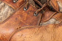 Worn Hunting Boot Stock Photography